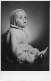První fotografie Vladimíra Czumala, polovina 50. let