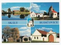 Pohlednice obce Skály po roce 2000