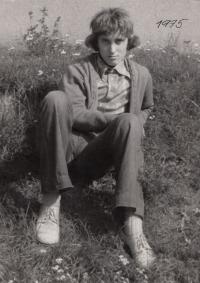 Ladislav Vavřík in summer of  1975