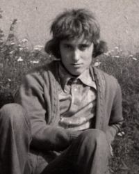 Ladislav Vavřík na dobové fotografii, léto 1975