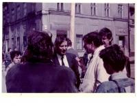 Návšteva Václava Havla v Ružomberku.