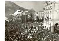 Revolučné zhromaždenie ružomberčanov dňa 27.11.1989