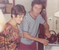 S manželem Miroslavem Doutlíkem