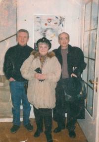 S Janem Burianem a Jaromírem Hanzlíkem