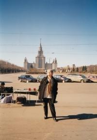 Na zájezdu v Moskvě