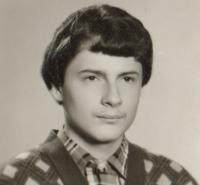 Miroslav Blažek, 15 let, 1981