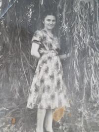 Marija Arsenivna Adamčuk in 1958