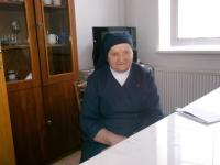 Sr. Notburga v kláštore v Belušských Slatinách, 2019