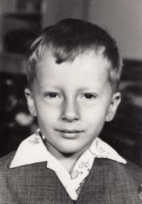 Miroslav Blažek, 5 let, Nová Paka, 1971