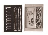 Ukázky původní bižuterie vyráběné v závodě pamětníkova otce