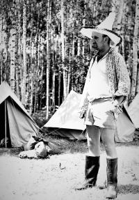 Na expedici mládeže u Záhorského rybníka (1964)