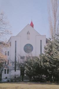 Husův sbor v Prostějově, kde Světluše Košíčková působila jako farářka v letech 1979-2008