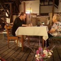 Natáčení vzpomínek Květy Dvořákové v Huti Jakuba skláře v Tasicích, 28. června 2019, foto: Marie Milichovská