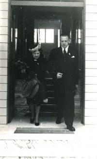 Božena a František Vašíčkovi, rodiče Tomislava Vašíčka
