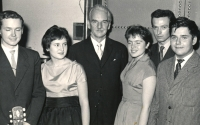 Vokální kvintet Tomislava Vašíčka, rok 1963