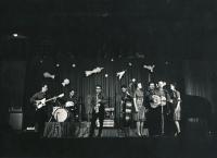 Vystoupení skupiny Sputnik v Lucerně, rok 1962