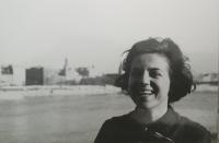 Eva Kamrlová v Bratislave, 1968