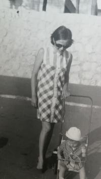 S dcérou Barborkou