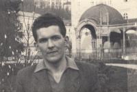 Bratr Jan Liška v Karlových Varech v roce 1952