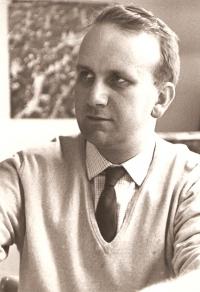 Jan Květ v roce 1965