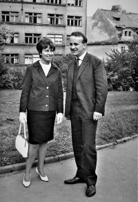 S manželkou Radanou (1965)