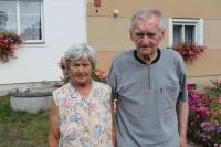 Josef Brzoň s manželkou, Bernartice 75, 2019 a