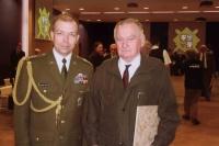 Při vyznamenání s Eduardem Stehlíkem
