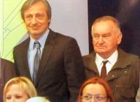 Při vyznamenání s ministrem Stropnickým