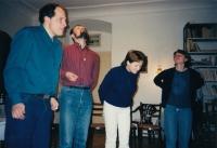 Křesťanská setkání na faře v Nové Pace, počátek 90. let