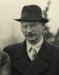 Vlastimil Stehlík v mládí, rok neznámý, detail