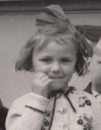 Kristina Balcarová, 1940