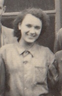 Kristina Balcarová, asi 1952