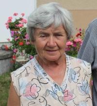 Manželka Libuše Brzoňová roz. Zelenková z mlýna Sedlice, 2019