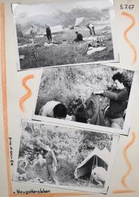 Ukázka z dokumentace cest, NDR 1967