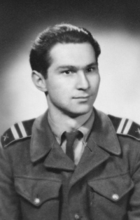 Lubomír v době vojenské služby (1950-1952)