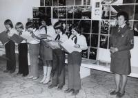 Pionýrská akce ve výrobním podniku, 1979