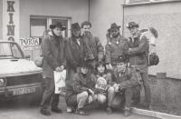 S country skupinou Montana na Portě, počátek 90. let