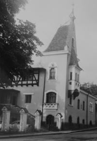Sborový dům v Jeseníku, kde probíhala setkání Taizé od roku 1986