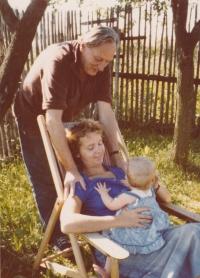 Sergej spolu s manželkou Drahoslavou Janderovou a jejich nejmladší dcerou Lízou