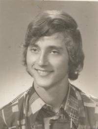 Stanislav Duchek, photo from the Charles University Credit Book