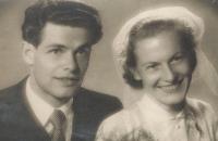 Svatba pamětníka, 18. 7. 1953
