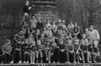 Zahájení 100 jarních kilometrů, Brandýs nad Orlicí, 31. března 1978