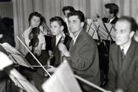 Milan Báchorek (quite right) in 1960s
