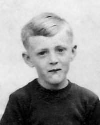 Jan Kreysa in his childhood