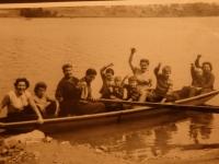 Dovolená v Seči 1963, Tomáš Holenda uprostřed