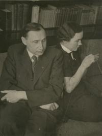 Karol Markovič with sister Mária Markovičová (1908-1984)