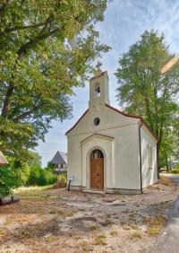 Kaple v Uhelné po opravě