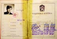 Vojenská knížka vojína Josefa Luxemburga