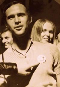 Josef Luxemburg na Mezinárodním festivalu mládeže ve východním Berlíně (1972)