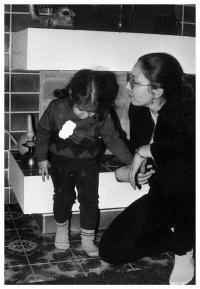 Jiřina Nehybová s dcerou Alicí